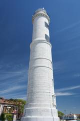 Lighthouse at Murano island, Venice, Italy