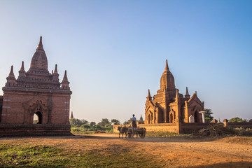 Temples of Bagan in Burma