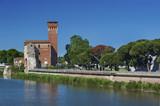 Fototapety Citadel Tower in Pisa, Italy
