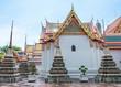 Wat Pho, the Temple of Reclining Buddha in Bangkok, Thailand