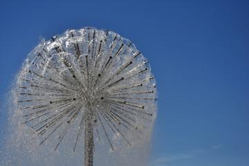 Dandelion-like fountain