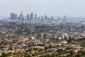 Los Angeles panoramic view