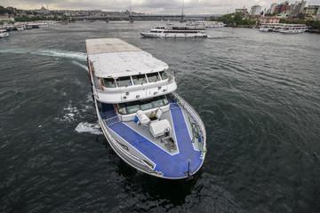 Imbarcazione sul Mar di Marmara