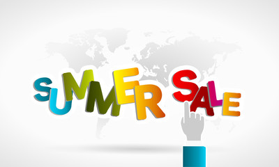 Summer sale around the world