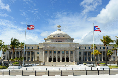Fotobehang Centraal-Amerika Landen Puerto Rico Capitol, San Juan