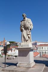 Monument to Saint Vincent . Lisbon, Portugal