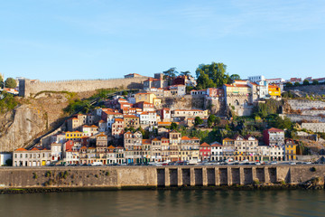 Ribeyr's region in Porto, Portugal, early in the morning