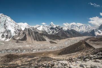 Kala Patar in Khumbu Region Everest Nepal