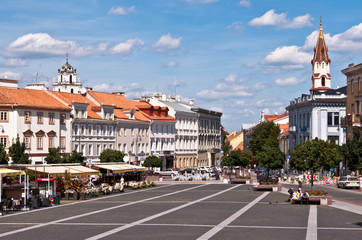Vilnius City Town Hall Square