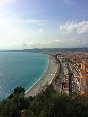 View from above - Nice, France