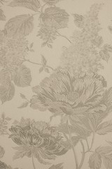 textured background with large flower patterns