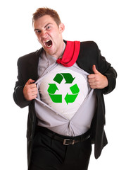 Recycling guy