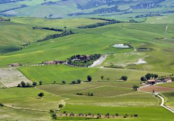 Rural landscape near Montalcino