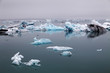 Leinwanddruck Bild - Icelake Jokulsarlon Iceland