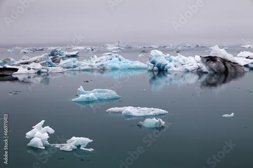 Leinwanddruck Bild Icelake Jokulsarlon Iceland