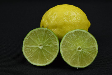 lime and lemon