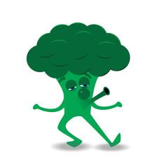 whistling brocolli