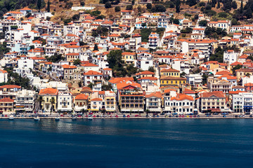 Vathy port in Samos island Greece
