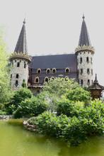 château de conte quelque part dans la campagne bulgare