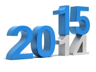 2015 Happy New Year 3d