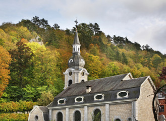 Church of St. Nicholas in Dinant. Belgique