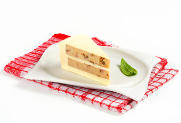 Savory cheese cake