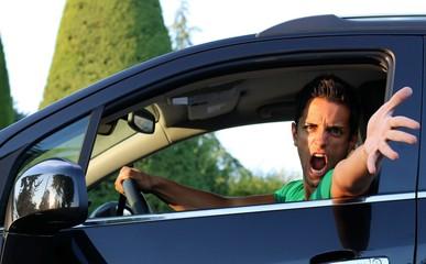 colère au volant