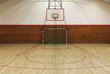 Retro indoor gymnasium