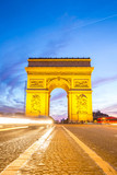 Arc of Triomphe Champs Elysees Paris - 66973883