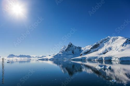 Foto op Aluminium Kust Paradise Bay, Antarctica