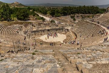 Das große Theater in Ephesos