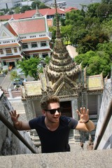 Tourist in Bangkok