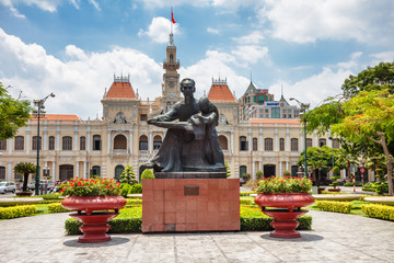 Monument to Ho Chi Minh