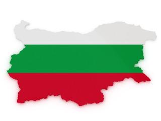 bulgaria 3d map