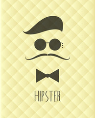 Vector Hipster Retro Graphic