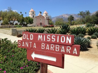 Old Mission, Santa Barbara, California
