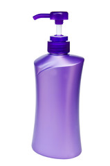 plastic pump bottle