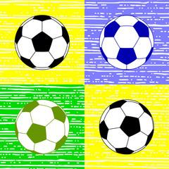 soccer ball, vector illustration