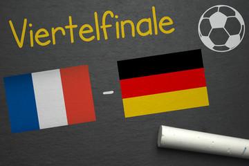 Viertelfinale Frankreich - Deutschland