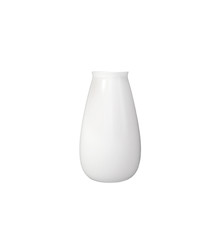 White Porcelain Ceramic Vase isolated on white