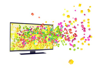 color in TV