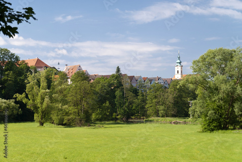 canvas print picture Old Town of Neustadt, Germany