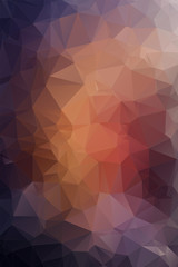 Abstract violet polygonal background.