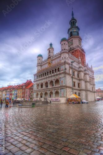 Ratusz na starym rynku w Poznaniu © Patryk Michalski