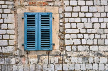 Closed shutters