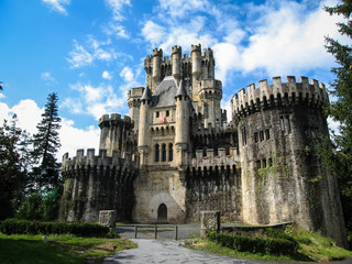 Castle Butron, Basque country, Spain