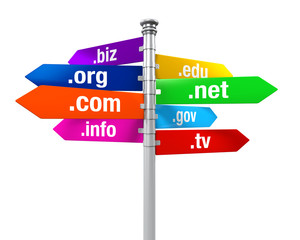 Sign Directions of Domain Names