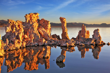 The calcareous tufa formation