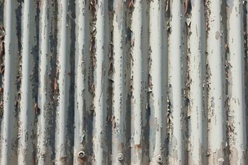錆び付いた壁