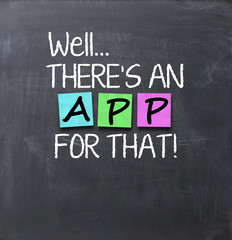 There is an app for that